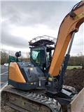 Case CX 80 C, 2018, Crawler excavators