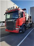 Scania R 520, 2014, Timber trucks