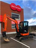Hitachi ZX38U, Mini excavators < 7t (Mini diggers), Construction