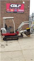 Takeuchi TB016, 2013, Mini excavators < 7t (Mini diggers)