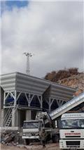 Boratas Machinery 100 m3 Concrete Batching Plant، 2019، خلاطات خرسانة