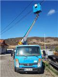 PRB Nissan Cabstar 35.11 Multitel 160 ALU, 2007, Specializuotos paskirties technika