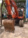 Doosan DH 140, Mga wheeled excavator