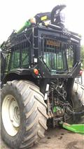 Valtra T163 Direct c/w New Botex 580C Roof Mounted Crane, 2013, Forestry tractors