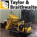 Yanmar C 12 R A, 2006, Tracked dumpers