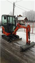 Kubota KX 016-4, 2011, Mini excavators < 7t (Mini diggers)