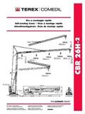 Comedil CBR 26 H-2, 2003, Self erecting cranes