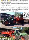 Fendt 514 C, 1998, Tractoren