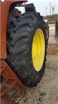 Pneus 460/85R38, Tires, wheels and rims