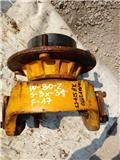 JCB 527-55, Ejes