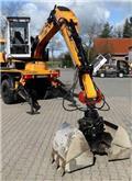 Unimog Aufbaubagger ematec M215, 2001, Special excavators