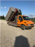 Iveco Daily, 2002, Lastbiler med containerramme / veksellad