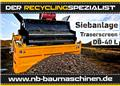DB Engineering DB-40L Siebanlage | Flachdecksieb | Siebbox, 2021, Screeners