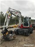 Takeuchi TB295W, Excavadoras de ruedas