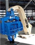 振中 YZM45 excavator mounted vibro hammer, 2015, Vibratory pile drivers