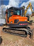 Doosan DX 80 R, 2013, Excavadoras 7t - 12t