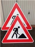 diverse Verkehrsschilder Baustelle * Warnschilder, Други