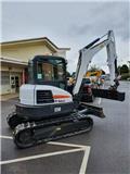 Bobcat E 50، 2017، حفارات صغيرة أقل من 7 طن (حفارات صغيرة)