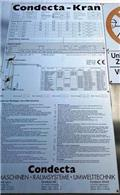 CONDECTA EUROKRAN 3610, 2006, Grue à montage rapide