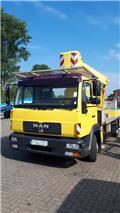 Wumag WT 270, 2004, Teherautóra szerelt emelők és állványok