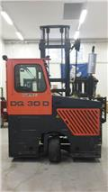 Hubtex DQ 30, 2006, 4-way reach truck