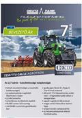 Deutz-Fahr AGROTRON TTV7250, 2017, Traktorok