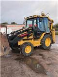 Caterpillar 428 D 4x4, 2005, Backhoe loaders