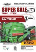 Unia PYRA 3000, 2008, Burgonya kombájnok és kiszedők
