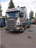 Scania R 16 L, 2005, Trak kayu