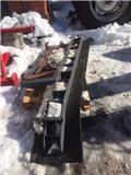 Kumisiippari 270 eurosoviteella, Snow Blades And Plows