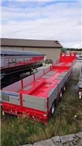 Doll Godt utstyrt uttrekksjumbo., 2018, Low loader-semi-trailers