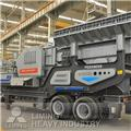 Liming YG1138EW86L mobile crusher plant、2014、自走式クラッシャー