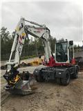 Takeuchi TB295W Uthyres, Excavadoras de ruedas
