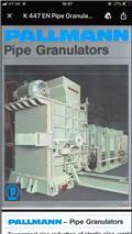 Pallmann PSR 10-6, 1978, Comprimeur de déchets