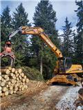 TST Timbernator  x Case WX210, 2015, Erdészeti Kotrók