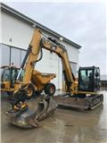 Caterpillar 308 E 2 CR, 2015, Midi bagri 7t – 12t