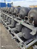 CNG TANKS, 190 liters, TYPE 4 MCS International, 2006, Ostale kargo komponente