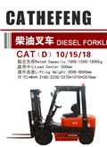 Cathefeng CAT 10/15/18, 2019, Diesel trucks