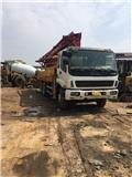Isuzu 37M, 2010, Concrete pumps