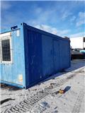 Kontor Brakke Pauserom, garderobe og toalett, 1998, Spesial containere