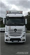 Mercedes-Benz Actros 2551, 2017, Box body trucks