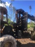 Vyvážecí souprava John Deere po částečném vyhoření, Transportadoras