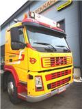 ボルボ FM 380 6x2 Vaijerilaite - hieno auto !!!、2004、ケーブルリフト着脱式トラック