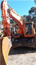 Doosan DX 160 W, 2007, Excavadoras de ruedas
