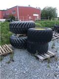 Trelleborg 404 Twin, Tyres, wheels and rims