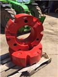 Fendt 2 x 600 kg wheel weights, 2019, Other Tractor Accessories