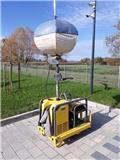 Wacker Neuson Lightballoon  LBM 1, 2011, Maszyny do polerowania betonu