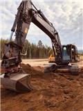 Volvo EC 300 E, 2015, Excavadoras sobre orugas
