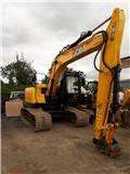 JCB JS131LC, 2016, Crawler excavators