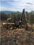 Ponsse Bear 6W, 2012, Processadores florestais
